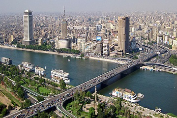 Cairo River Nile Egypt